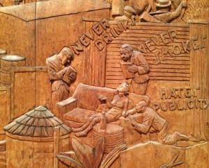 wood-cut